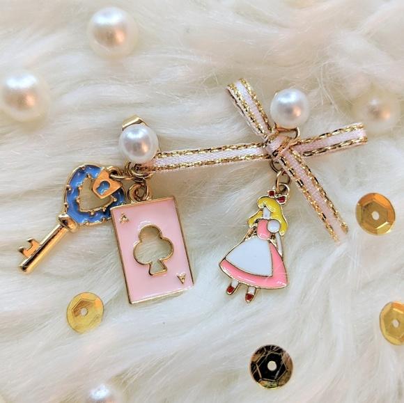 Jewelry - Alice in Wonderland Earrings ❤️NEW❤️BOUTIQUE❤️